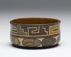 WALTERS: Nazca: Dish with Bean Imagery 200