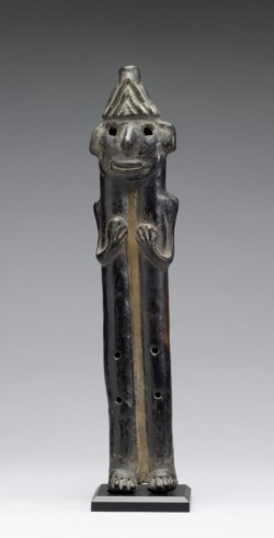 WALTERS: Mexican (Jalisco style): Human Effigy Flute -300