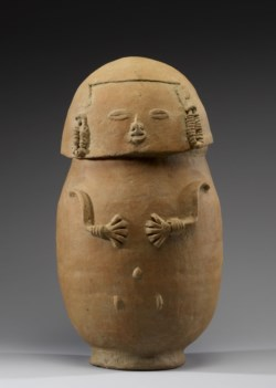 WALTERS: Colombian (Chimila): Head-shaped Lid of a Burial Urn 1000