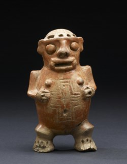 WALTERS: Costa Rican (Atlantic Watershed): Human Effigy Ocarina 200