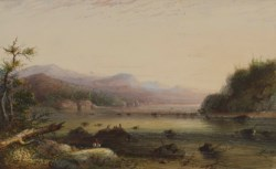 WALTERS: Alfred Jacob Miller (American, 1810-1874): Green River - Oregon 1858