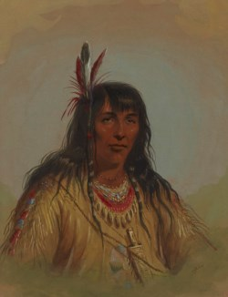 WALTERS: Alfred Jacob Miller (American, 1810-1874): Bannock Indian 1858