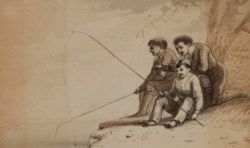 WALTERS: Alfred Jacob Miller (American, 1810-1874): Pull-Up Charley 1825