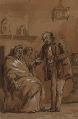 WALTERS: Alfred Jacob Miller (American, 1810-1874): Now, Doctor, - Do Please Tell Me 1825