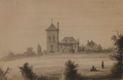 WALTERS: Alfred Jacob Miller (American, 1810-1874): Country Seat of Reverdy Johnson 1810