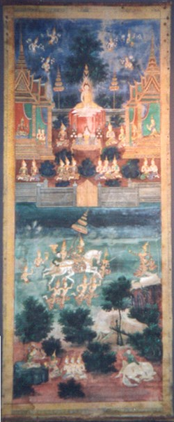 WALTERS: Cambodian: Scenes from the Life of Buddha 1858