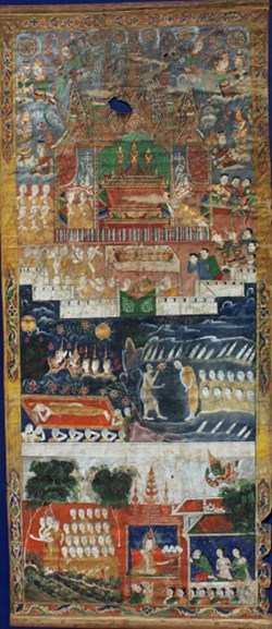 WALTERS: Cambodian: Death of Buddha, and Other Events 1801