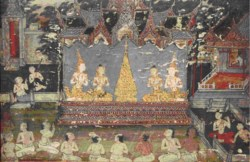 WALTERS: Thai: The Marriage of Buddha's Parents 1825