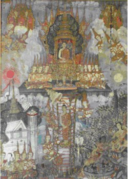 WALTERS: Thai: Buddha Descending from Tavatimsa Heaven 1701