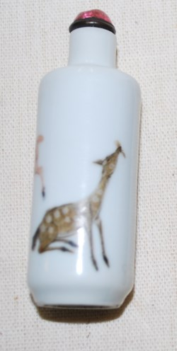 WALTERS: Chinese: Snuff Bottle with Deer 1801